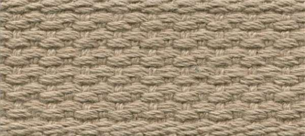 Cotton Webbing Taupe