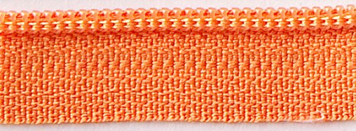 Zipper 14in-Orange Peel