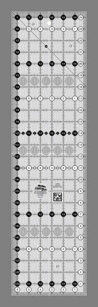 Creative Grids Quilting Ruler - 6 1/2in x 24 1/2in