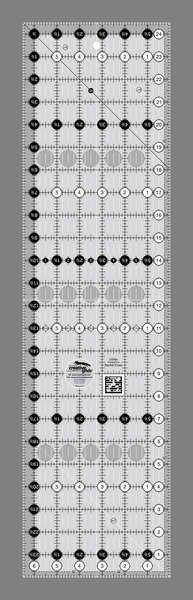 Creative Grids Quilting Ruler - 6 1/2in x 24 1/2in