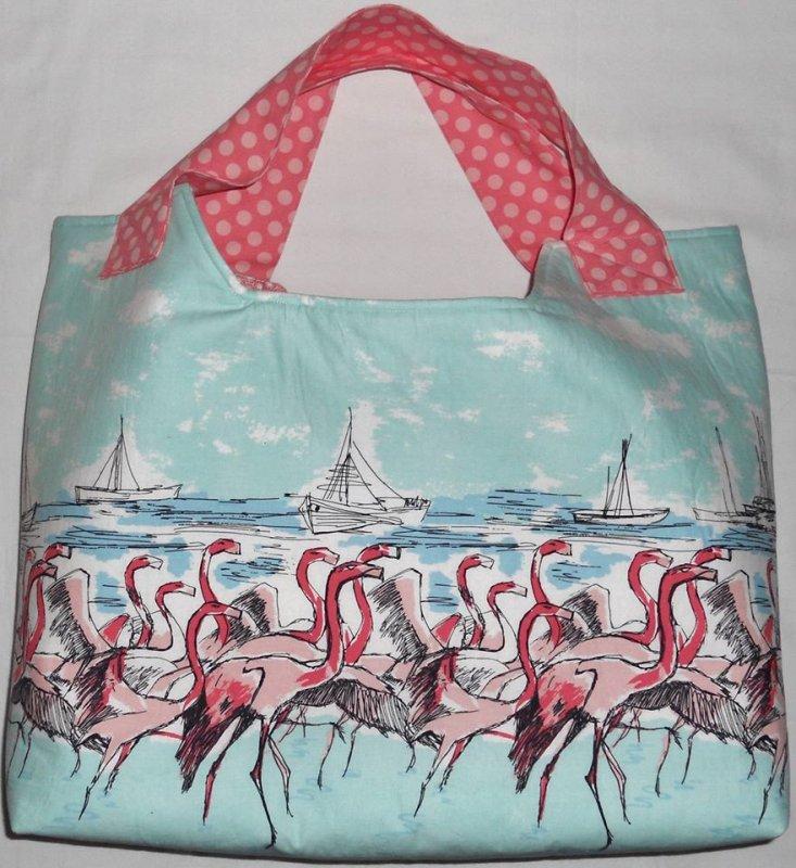 Kit-Flamingo Beach Bag