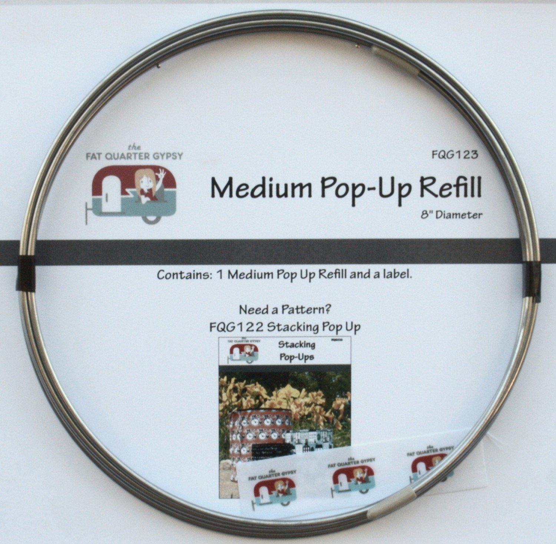 Stacking Pop-Up Refill Medium 8in