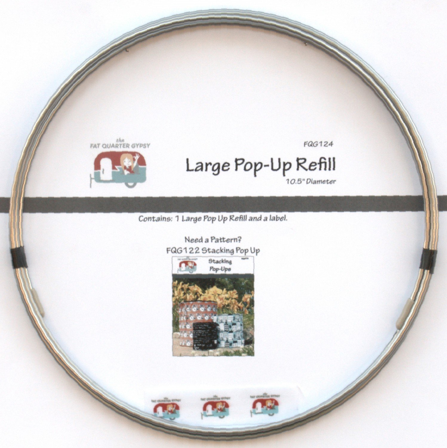 Stacking Pop-Up Refill Large 10-1/2in