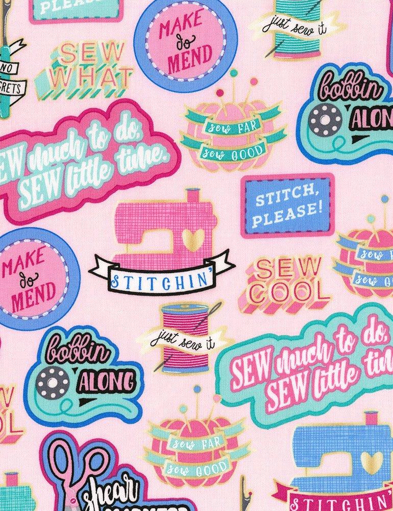 Sew Cool Fun-C6321-Pink