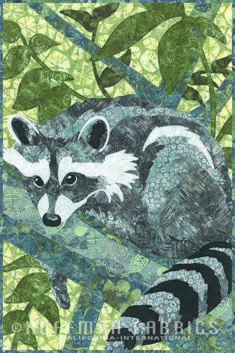 Kit-Hoffman Wild Raccoon *PRE-CUT & PRE-FUSED! - 30% OFF