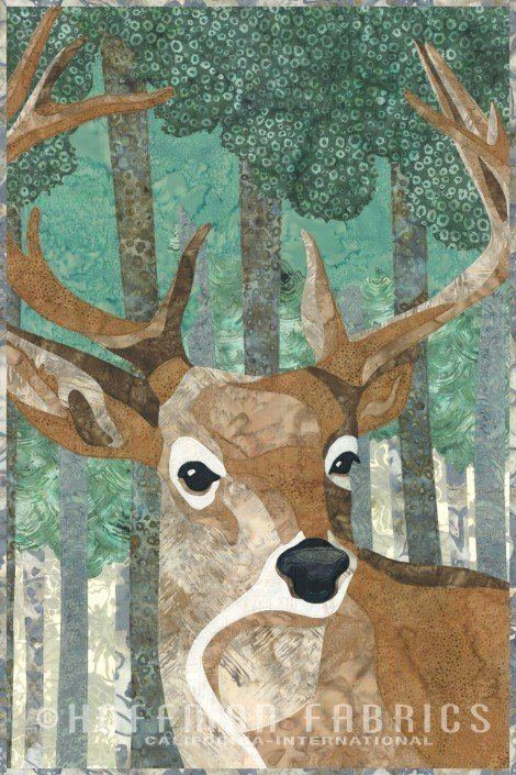 Kit-Hoffman Wild Deer *PRE-CUT & PRE-FUSED! - 30% OFF