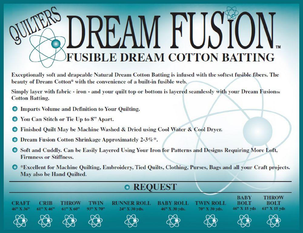Dream Fusion Cotton Request