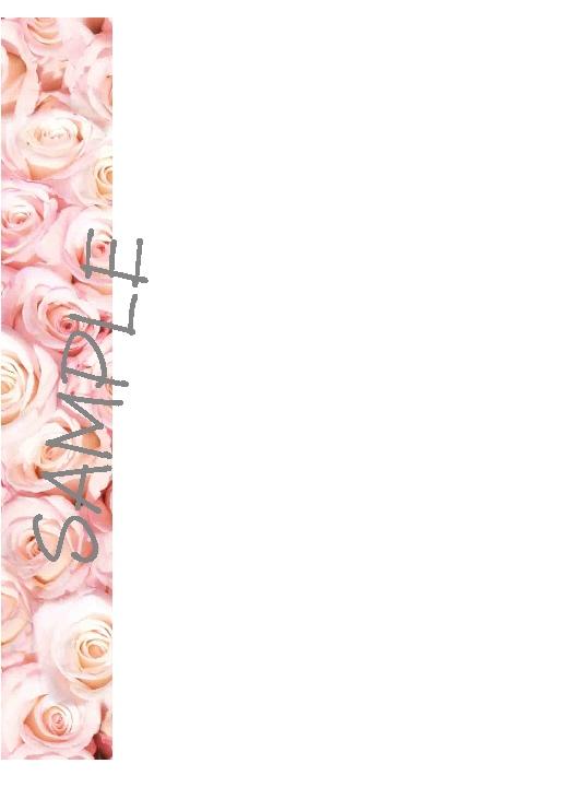 Quilt Label-pink floral