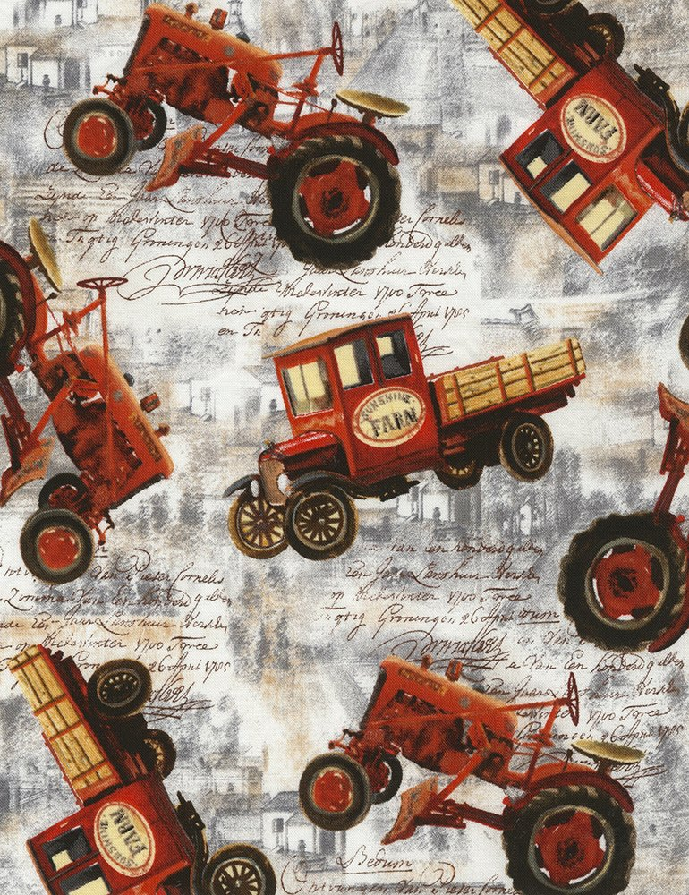 red tractors trucks Ruth-C5480-Ash