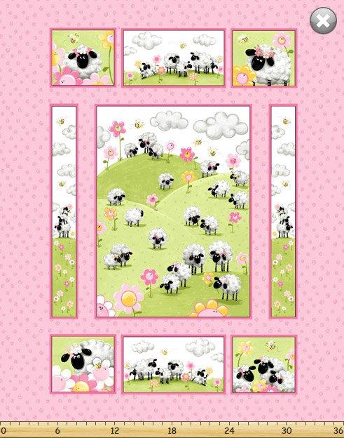 Lal the Lamb SB20240-520 panel