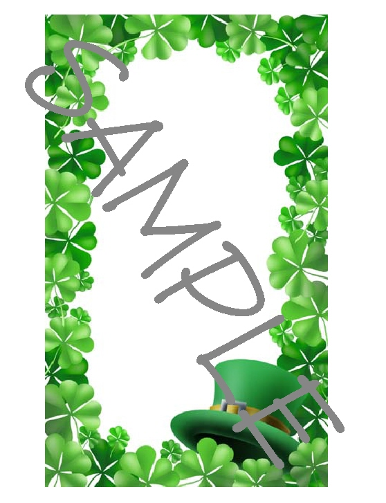 Quilt Label-st patricks day (a)