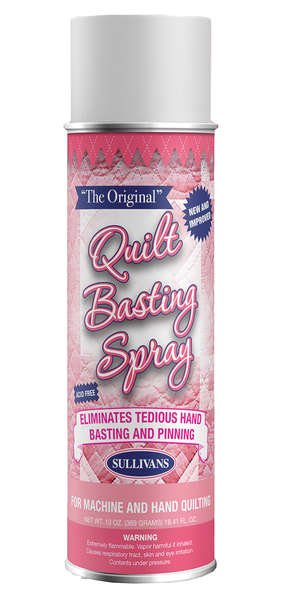 Quilters Basting Spray-by Sullivans