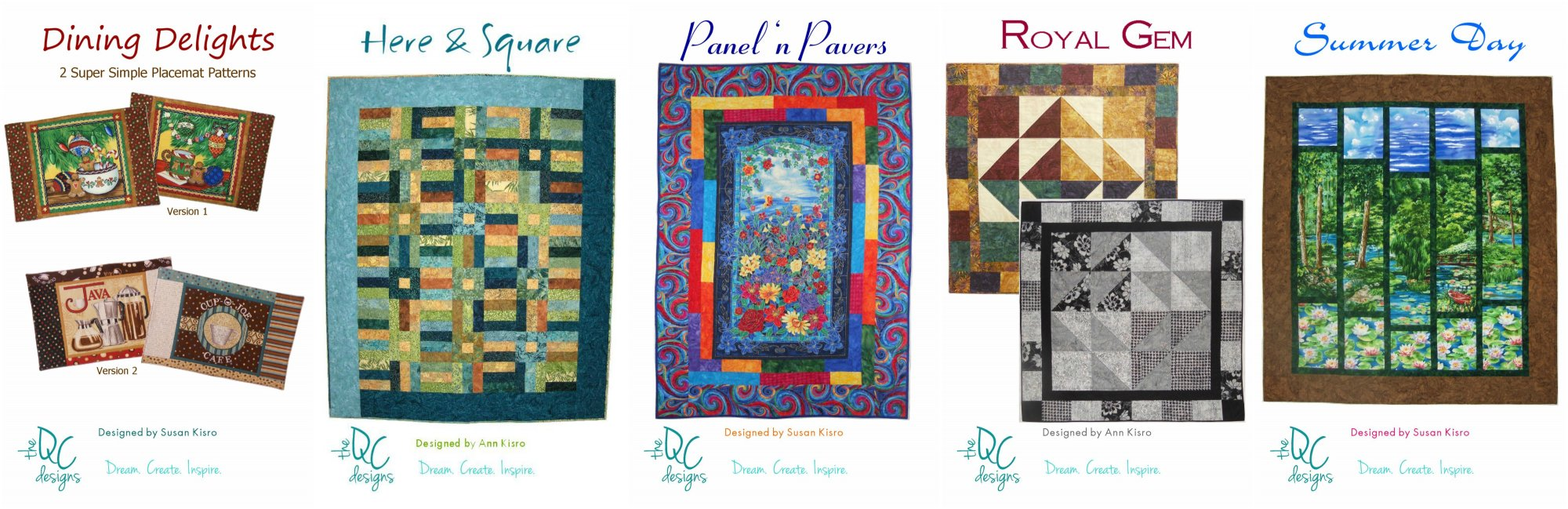 The QC Designs Pattern Pack #1- 66.66% OFF