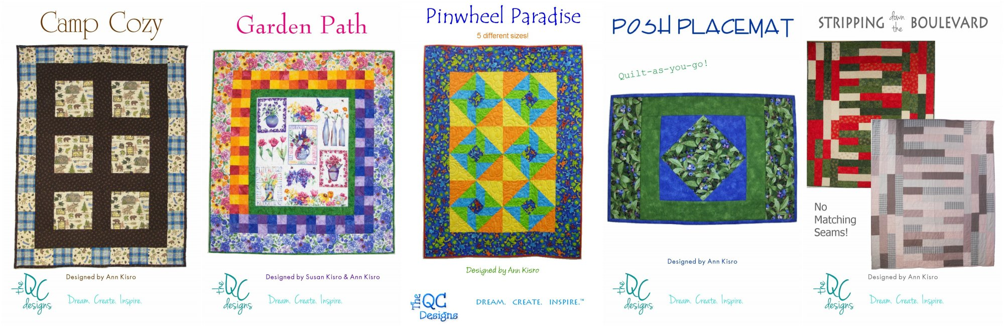 The QC Designs Pattern Pack #2- 66.66% OFF