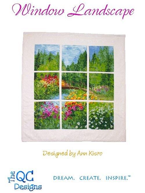 The QC Designs-Window Landscape *DIGITAL DOWNLOAD