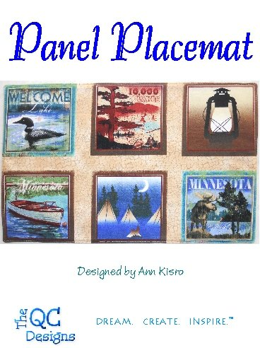 The QC Designs-Panel Placemat
