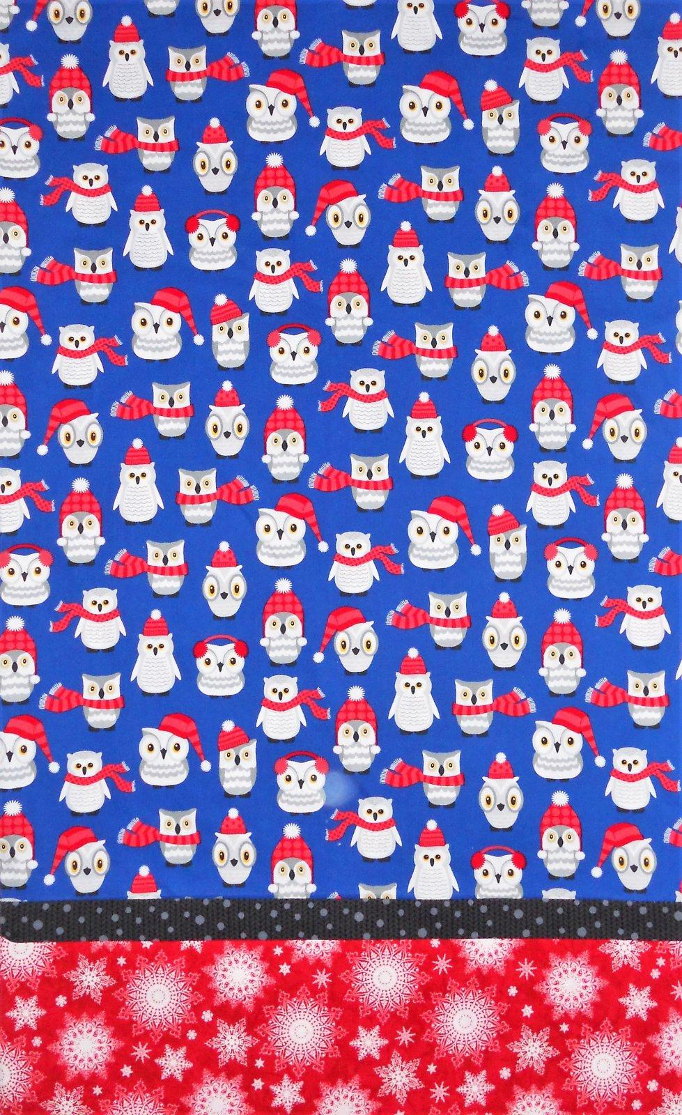 Kit-Pillowcase-Winter Owl