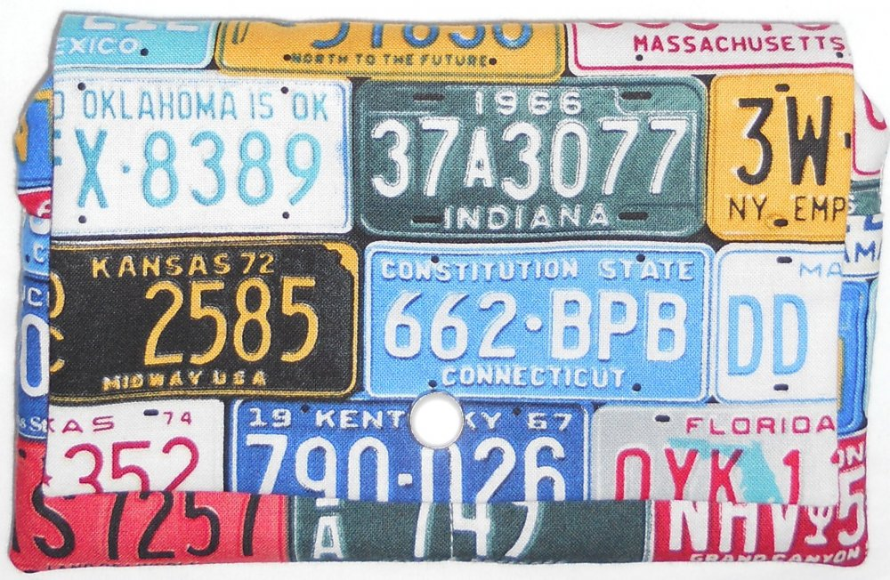 Kit-Wherever You Go Wallet-License Plates