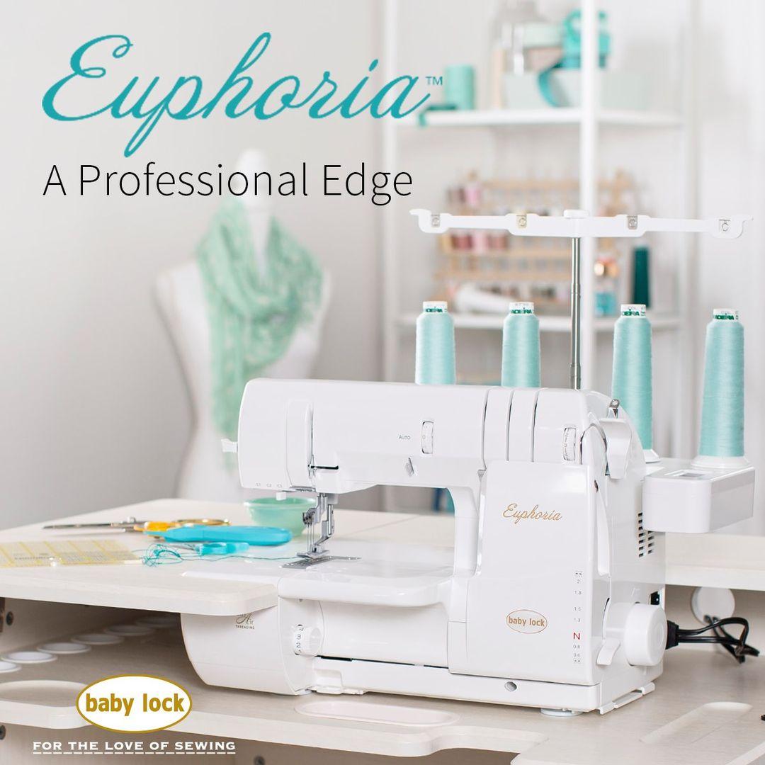 Baby Lock Euphoria Cover Stitch Machine