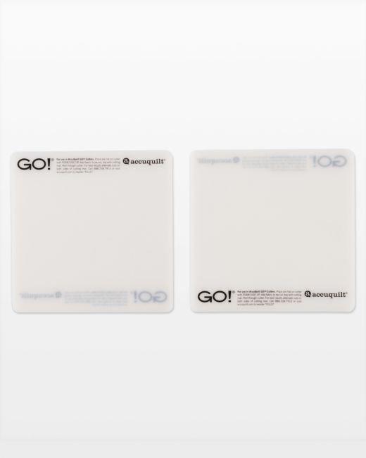 GO! Cutting Mat-6 x 6 (2-Pack)