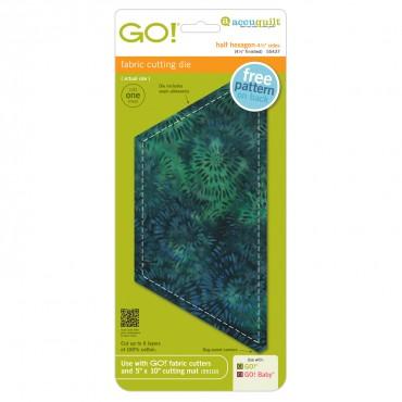 GO! Half Hexagon  4 1/2 Sides