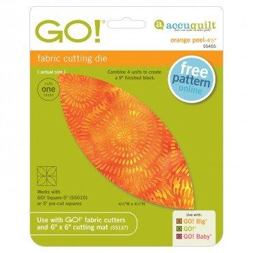 GO! Orange Peel 4 1/2