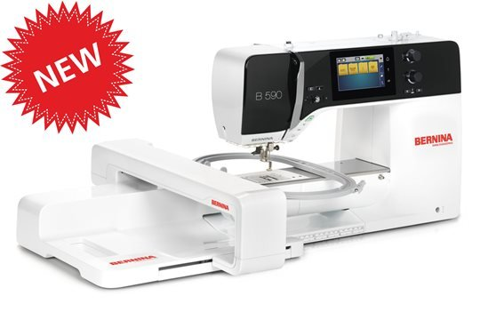 Bernina 590 with Embroidery Unit