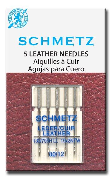 Schmetz Leather Machine Needles Size 12/80
