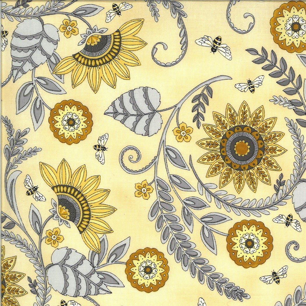 Moda - Bee Grateful - 19961-12 Honey Yellow