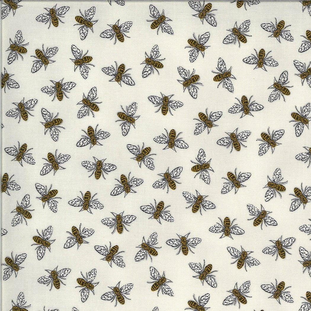 Moda - Bee Grateful - 19965-14 Dove Grey