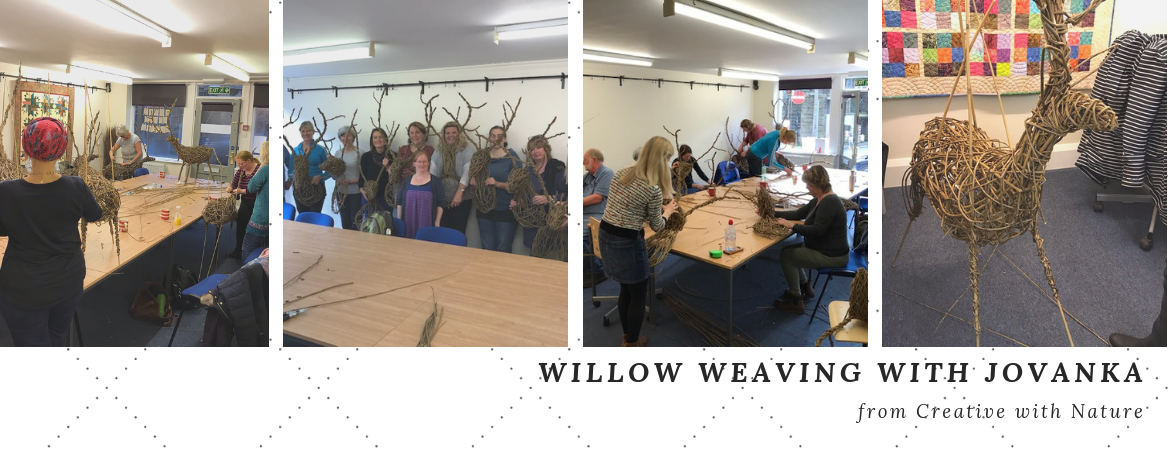 Willow weaving with Jovanka Gregory