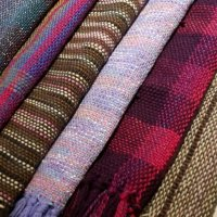 Weave a scarf in a day at The Quilt Cabin Studio in Mytholmroyd