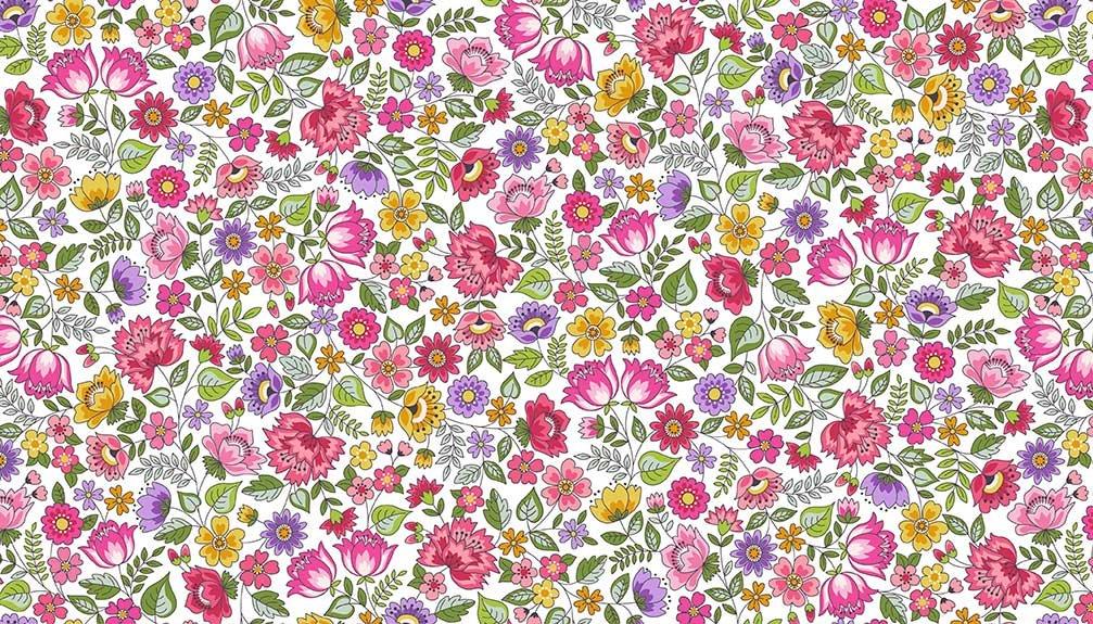 Makower - Bloom Chintz Pink 2031/P