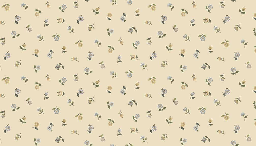 Makower - Bloom Floral scatter Cream 2032/Q