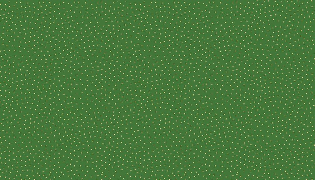 Makower - Yuletide spot Green - 2247/G