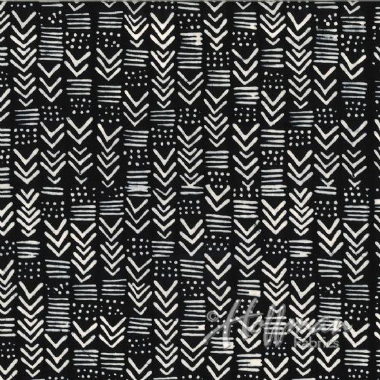 Hoffman Batik  123-163 Zebra