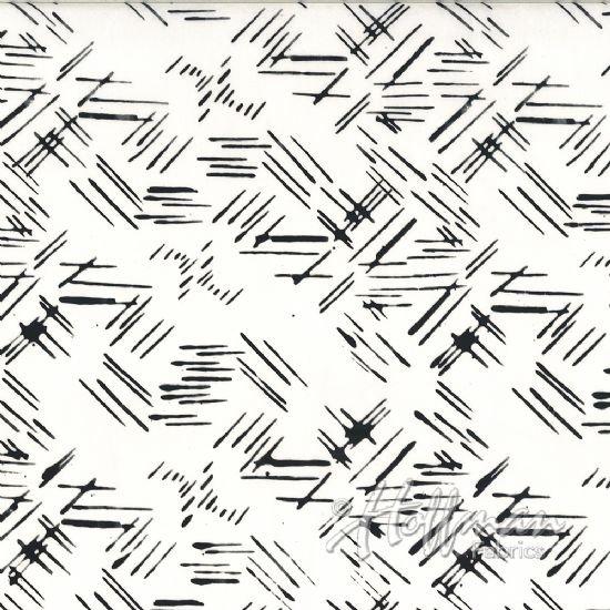 Hoffman Batik  124-655 Chalk
