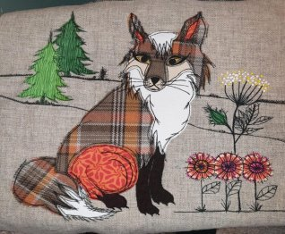 Make a Fox cushion