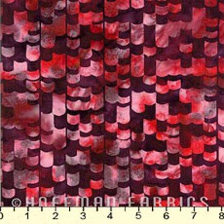 Hoffman Batiks  N2806-381 Pomegranate