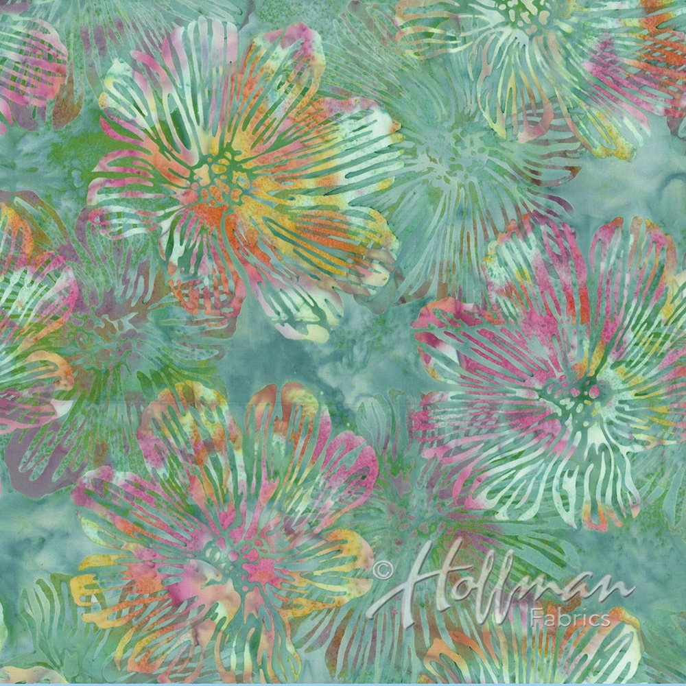 Hoffman Batik  P2982-547 Loden