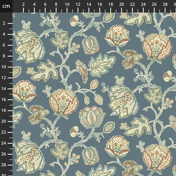 Free spirit - Orkney by Morris & Co - Theodesia Blue PWWM043