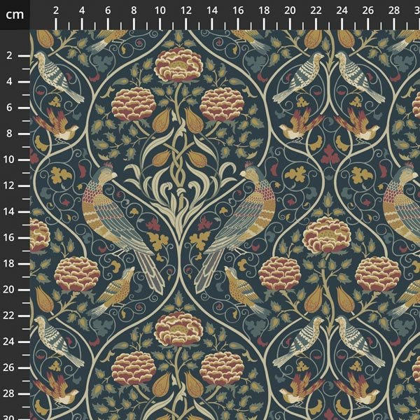 Free spirit - Orkney by Morris & Co -  Seasons by May Indigo PWWM044
