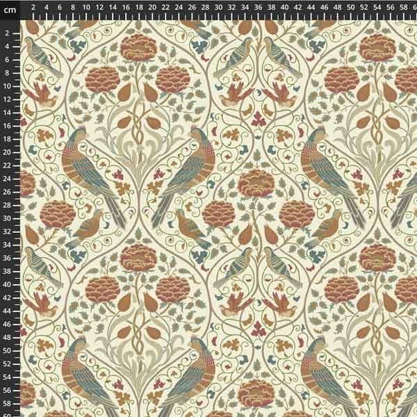 Free spirit - Orkney by Morris & Co -  Seasons by May Linen PWWM045