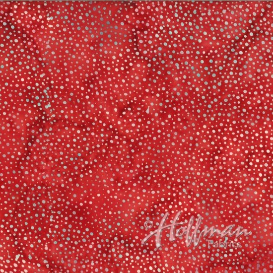 Hoffman Batik  885-5 Red