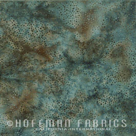 Hoffman Batik  885-D7 Dusty Blue