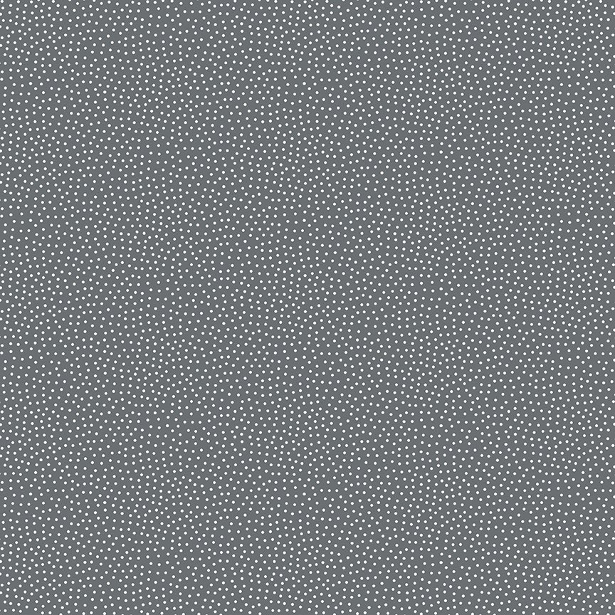 Andover - Freckle Dot Grey 9436C