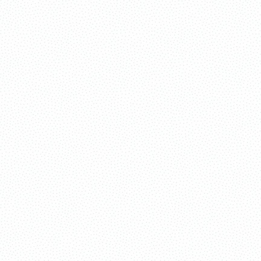 Andover - Freckle Dot White on White 9436WW