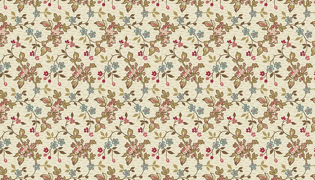 Andover - Super Bloom  - 9448L - Jasmine Sand
