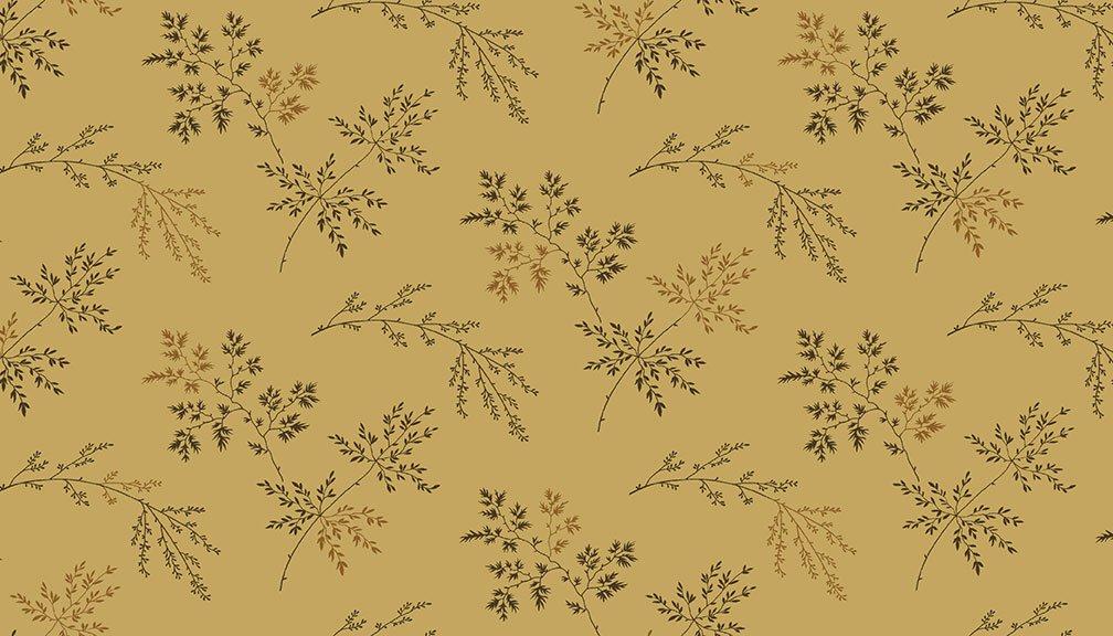 Andover - Super Bloom  - 9454LN -  Twigs Dark Khaki