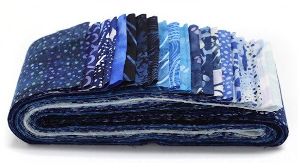 Hoffman Bali Poppy - Blue Bonnet 647